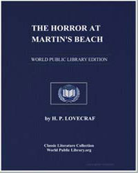 The Horror at Martin's Beach by Lovecraft, H. P.