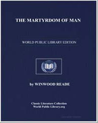 The Martyrdom of Man by Reade, Winwood