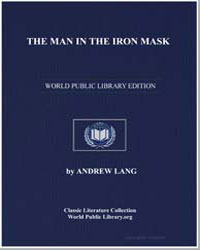 The Man in the Iron Mask by Lang, Andrew