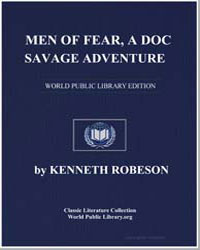 A Doc Savage Adventure : Men of Fear by Robeson, Kenneth