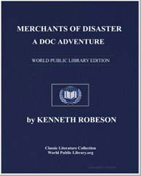 A Doc Savage Adventure : Merchants of Di... by Robeson, Kenneth