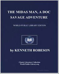 A Doc Savage Adventure : The Midas Man by Robeson, Kenneth