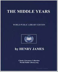 The Middle Years by James, Henry