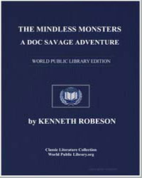 A Doc Savage Adventure : The Mindless Mo... by Robeson, Kenneth