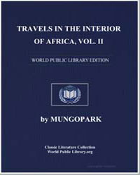 Travels in the Interior of Africa - Volu... by Park, Mungo