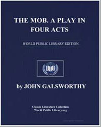 The Mob by Galsworthy, John