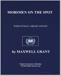 Mobsmen on the Spot by Grant, Maxwell