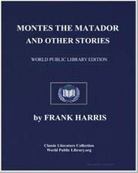 Montes the Matador and Other Stories by Harris, Frank