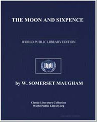 The Moon and Sixpence by Maugham, William Somerset