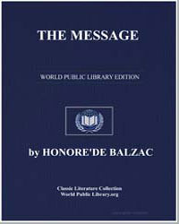 The Message by De Balzac, Honore