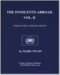 The Innocents Abroad Volume 2 by Twain, Mark