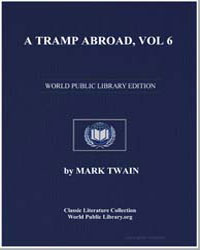 A Tramp Abroad, Vol. 6 by Twain, Mark