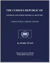 The Curious Republic of Gondour and Othe... by Twain, Mark