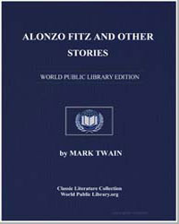 Alonzo Fitz and Other Stories by Twain, Mark