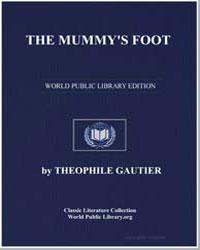 The Mummy's Foot by Gautier, Théophile