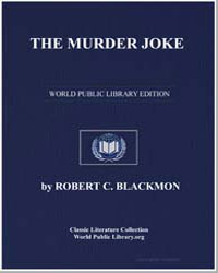 The Murder Joke by Blackmon, Robert C.