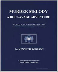 A Doc Savage Adventure : Murder Melody by Robeson, Kenneth