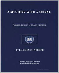 A Mystery with a Moral by Sterne, Laurence