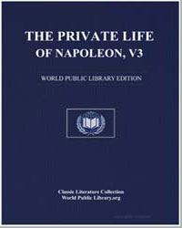 The Private Life of Napoleon Bonaparte, ... by Wairy, Louis Constant