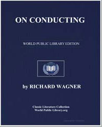 On Conducting by Wagner, Richard