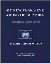 My New Year's Eve Among the Mummies by Wilson, J. Albert (John Albert)