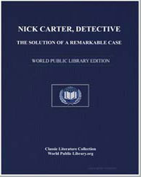 Nick Carter, Detective : The Solution of... by Carter, Nick
