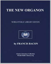 The New Organon : Or True Directions Con... by Bacon, Francis, Sir