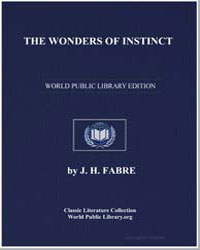 The Wonders of Instinct by Fabre, J. Henri
