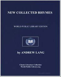 New Collected Rhymes by Lang, Andrew