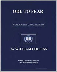 Ode to Fear by Collins, William