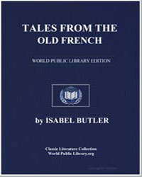 Tales from the Old French by Butler, Isabel