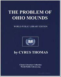 The Problem of Ohio Mounds by Thomas, Cyrus