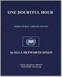 One Doubtful Hour by Dixon, Ella Hepworth