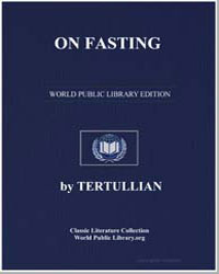 On Fasting by Tertullian