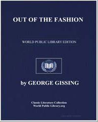 Out of the Fashion by Gissing, George