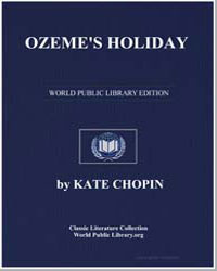 Ozeme's Holiday by Chopin, Kate