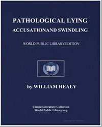 Pathological Lying, Accusation, And Swin... by Healy, William