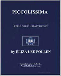 Piccolissima by Lee Follen, Eliza