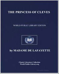 The Princess of Cleves by De Lafayette, Madame