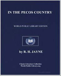In the Pecos Country by Jayne, R. H.