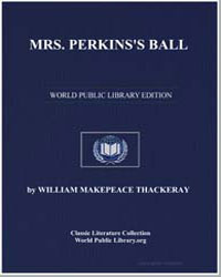 Mrs. Perkins's Ball by Thackeray, William Makepeace