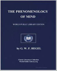 The Phenomenology of Mind by Hegel, G. W. F.