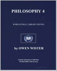 Philosophy 4 by Wister, Owen