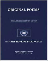 Original Poems by Pilkington, Mary Hopkins