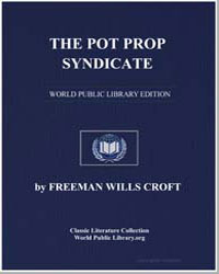 The Pit Prop Syndicate by Croft, Freeman Wills