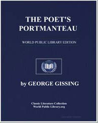 The Poet's Portmanteau by Gissing, George