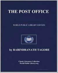The Post Office by Tagore, Rabindranath, Sir