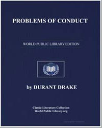Problems of Conduct by