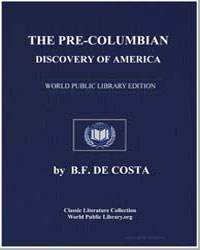 The Pre-Columbian Discovery of America b... by De Costa, B. F.