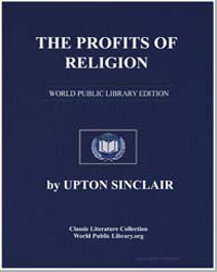 The Profits of Religion by Sinclair, Upton
